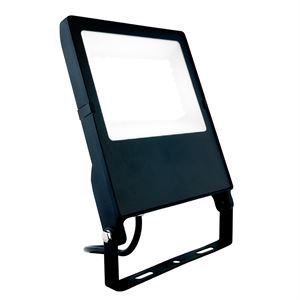 50W Osram DOB LED Floodlight IP66 Black for Commercial Applications