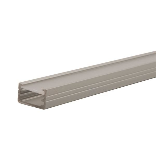 Kanlux Profilo B 2 Metres Aluminium Extrusion Lighting Profile 26540