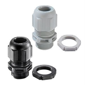 Wiska M20 IP68 Cable Glands with Locknut 10 sets