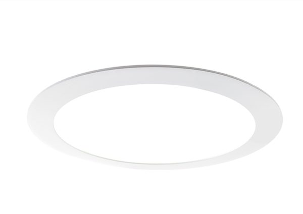 Round LED Ceiling Panel 18W Pure White 6000K